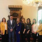 """زيارات بروتوكولية لإتحاد قيادات المرأة العربية فرع """" لبنان """""""