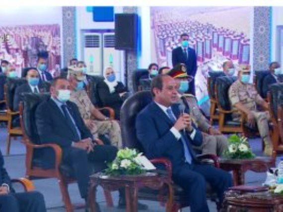 """الرئيس السيسي: """"اشتراطات البناء ستكون فى منتهى الحزم والقسوة"""""""