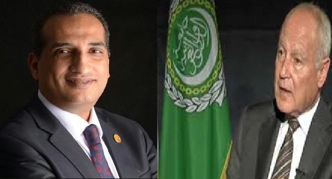"""رئيس اتحادي"""" الإعلاميين العرب و المبدعين العرب"""" يهنئ  أبو الغيط أمين عام جامعة الدول العربية لتجديد الثقة"""