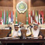 """تعاون بين """"المجلس العالمي للتسامح والسلام"""" و البرلمان العربي """" لتعزيز ثقافة التسامح"""