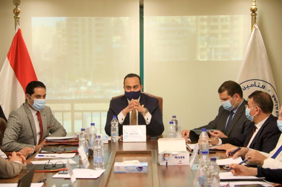 مجلس إدارة الهيئة العامة للرعاية الصحية يتقدم بالتهنئة للسيد الرئيس عبدالفتاح السيسي والشعب المصري بمناسبة ذكرى 30 يونيو