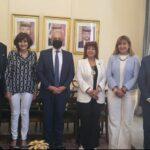 """العضايلة"""" سفير الأردن يلتقي رئيس اتحاد المستثمرات العرب"""