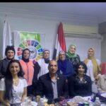 إجتماع تحضيري لإتحاد قيادات المرأة العربية ومؤسسة مجاهد وشركة أمبيانس