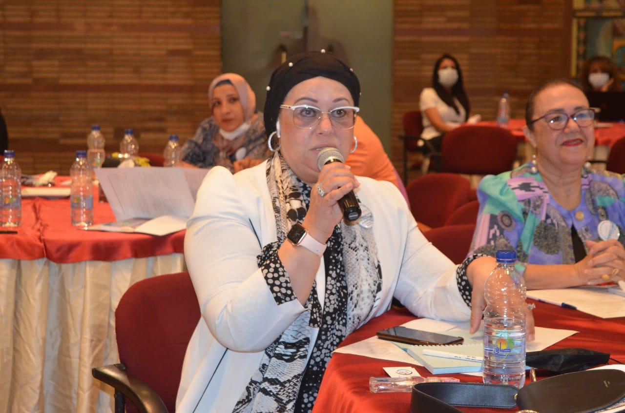 """مشاركة إتحاد قيادات المرأة العربية بندوة حول """"نريد قانون يحمينا"""" مع الهئية القبطية الإنجليه للخدمات الاجتماعية"""
